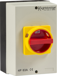 IP65 63A Rotary Isolator 4P AC (230V-415V)-IN0027-Knightbridge
