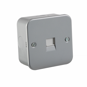 Metal Clad Telephone Extension Socket-M7400-Knightsbridge
