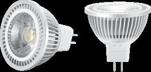 12V MR16 AC/DC 5W COB LED Warm White 3000K 400 Lumens-MRCOB5WW-Knightbridge