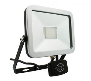 ispot 20W LED MW Floodlight - Black
