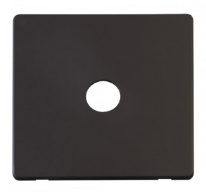 SINGLE CO-AXIAL SKT PLATE - SCP231 - Scolmore