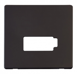 13A FCU (LOCK) PLATE - SCP450 - Scolmore