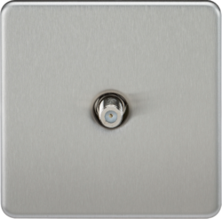 Screwless 1G SAT TV Outlet (Non-Isolated)-SF0150-Knightsbridge