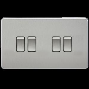 Screwless 10A 4G 2-Way Switch - SF4100 - knightsbridge