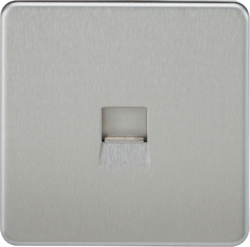 Screwless Telephone Extension Socket-SF7400-Knightsbridge