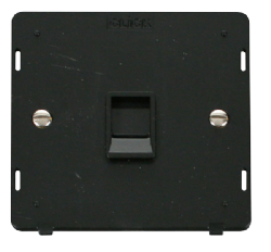 SINGLE RJ11 SOCKET OUTLET INSERT - SIN115 - Scolmore