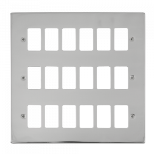GRIDPRO 18 GANG DECO PLATE-VP**20518-Scolmore
