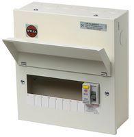 Wylex RCD Metal Cased 8 Way 100A Amendment 3 Consumer Unit NMRS806