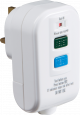 Knightsbridge RCDAV002 RCD Safety Plug, White