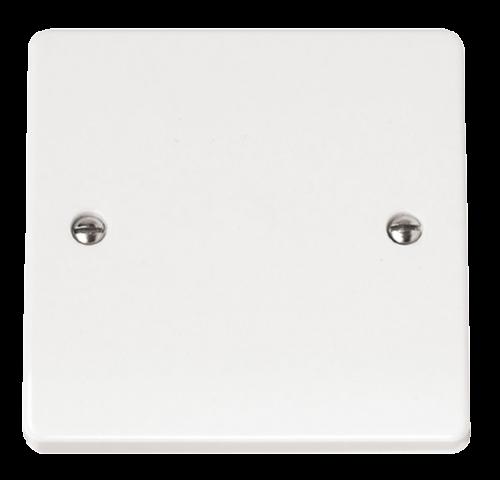 2 x Blank Plate 1 Gang Click Mode CMA060